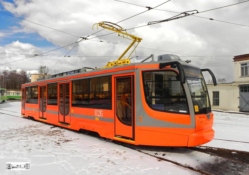 Фото В.Кириллова. Трамвайный
